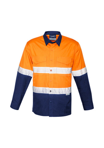 Syzmik Unisex Hi Vis Spliced Rugged Shirt - Hoop Taped