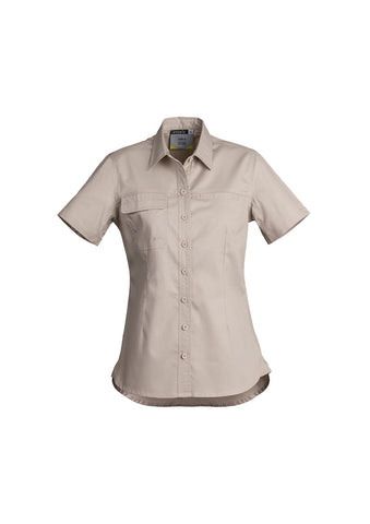 Syzmik Womens Lightweight Tradie Shirt - Short Sleeve # ZWL120