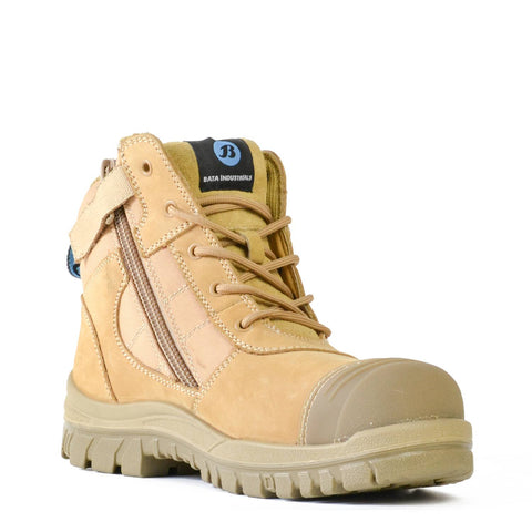 Bata - Zippy Zip Sided Safety Boot 804-88841