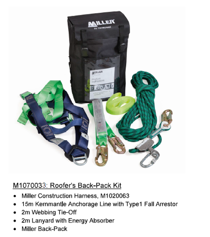 Miller Roof Worker Kits  M1070033