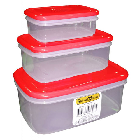 Rugged Xtremes Food Storage Box Set