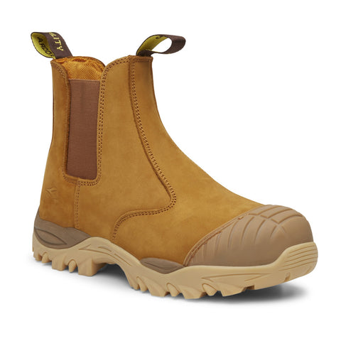 Diadora Craze Unisex Elastic Sided Safety Boot (Wheat) FU1501SL