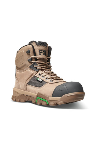 FXD WB-1 6.0 NITROLITE COMPOSITE WORK BOOTS (STONE)