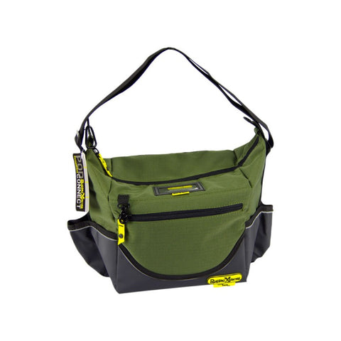 Rugged Xtremes Insulated Green Canvas Crib Bag