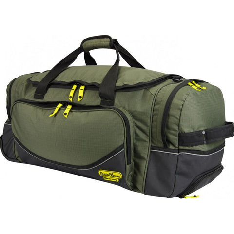 Rugged Xtremes Large Wheeled Canvas FIFO Transit Bag #RX05C131W