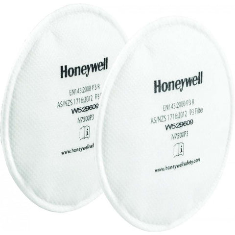 Honeywell N7500P3 Pancake Filter P2/P3 (Pair)