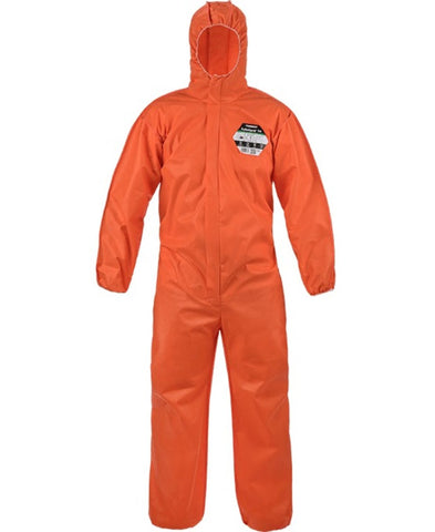 Lakeland SafeGard 76 Disposable Type 5-6 Coverall (Orange) SMMS428WEO