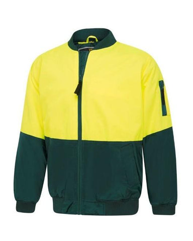Visitec Hi Vis 2 Tone Flying Jacket (Yel/Nav)