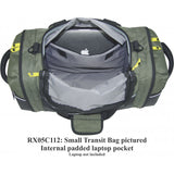 Rugged Xtremes Small Canvas FIFO Transit Bag # RX05C112