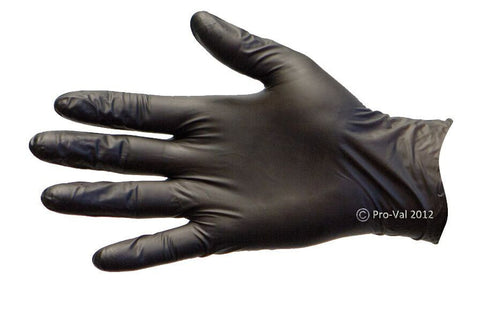 Pro Val Nitrile Blax PF Black Nitrile Disposable Glove