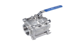 "3 Piece Ball Valve 1/2"" BSP - Keg kingdom"