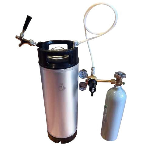 Premium Cornelius keg starter kit with keg faucet - Keg kingdom