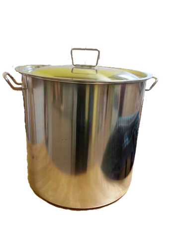 50 litre Stainless Pot with Lid