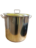33 litre Stainless Pot with Lid