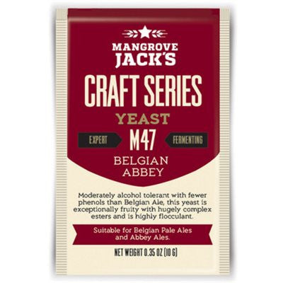 Mangrove Jacks Belgian Abbey Beer Yeast M47