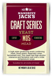 Mangrove Jacks Mead yeast M05