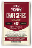 Mangrove jacks New World strong Ale yeast M42
