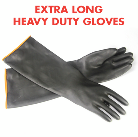 Heavy Duty Brewing Gloves - 55cm LongHover to zoom  HEAVY DUTY BREWING GLOVES - 55CM LONG
