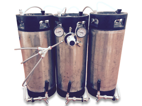 Kegerator conversion kit (triple) - Keg kingdom