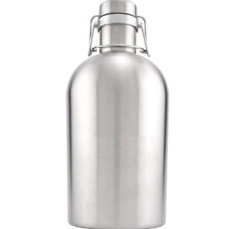 Stainless steel growler - Keg kingdom