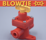 BLOWTIE DIAPHRAGM SPUNDING VALVE - ADJUSTABLE PRESSURE RELIEF VALVE