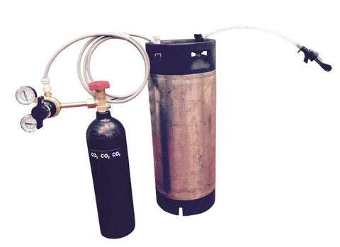 Standard Cornelius keg kit with mobile party tap - Keg kingdom