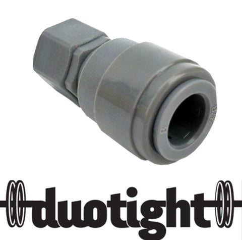 DUOTIGHT - 9.5MM(3/8) X FFL (TO FIT MFL DISCONNECTS)