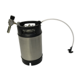 9L Premium Cornelius Keg starter kit with party tap and mini reg