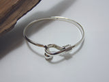 sterling silver ball hook bangle Georg Jensen 925 Canterbury