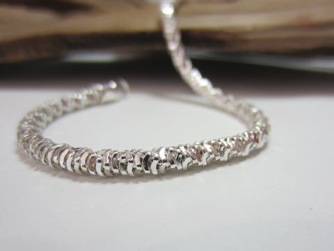sterling silver mirror snake bracelet 925 Canterbury