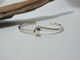 sterling silver single twist bangle 925 Canterbury
