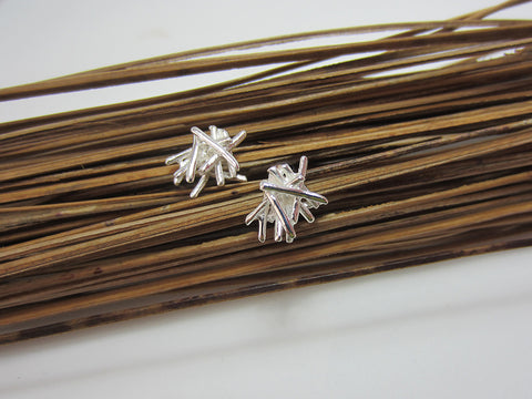 sterling silver twigs stud earrings 925 Canterbury