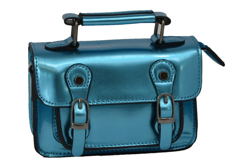 Blue Mini Satchel