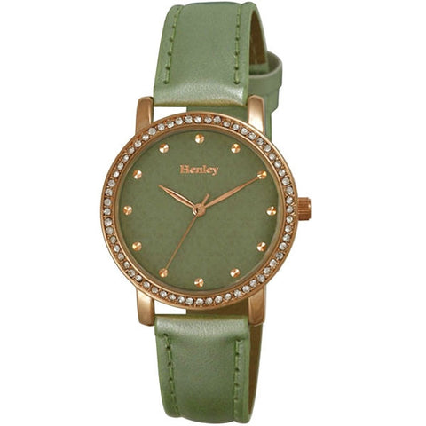 Green Love Heart Watch