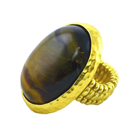 Cat's Eye Gold Ring