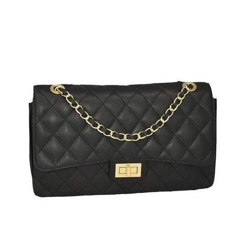 Fabiolla - Chanel Inspired Italian Borse in Pelle Leather