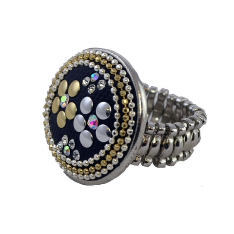 Spanish Button Ring