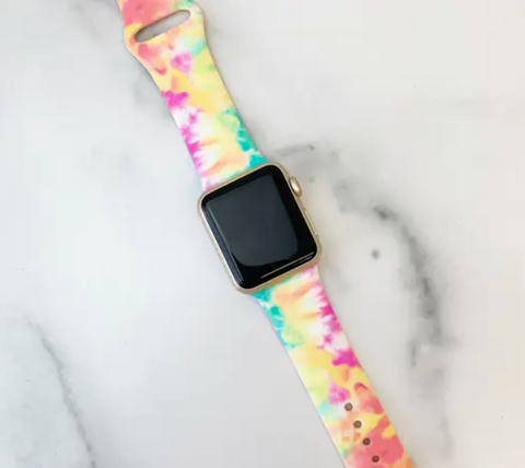 Silicone Apple Watch Band- 2 COLORS