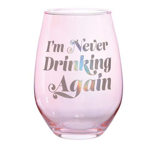 I want to be a nice person but everyone is just so stupid neoprene wine glass cozie
