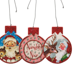 Vintage Christmas Ornament Set-SALE