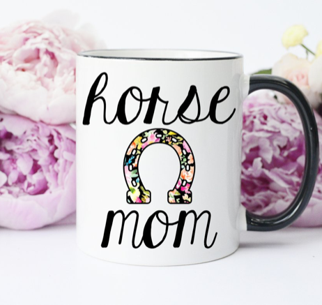 Horse Mom 15oz Coffee Mug