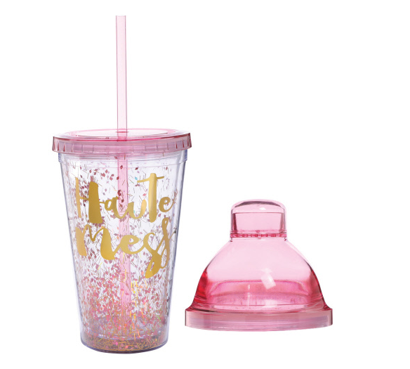 Haute Mess Travel Shaker/Cup/Straw Set
