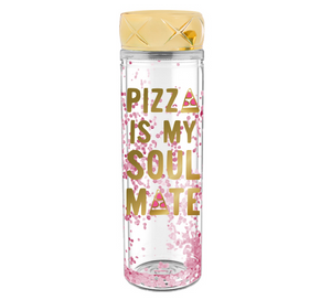 Pizza Is My Soulmate 20oz Water Bottle