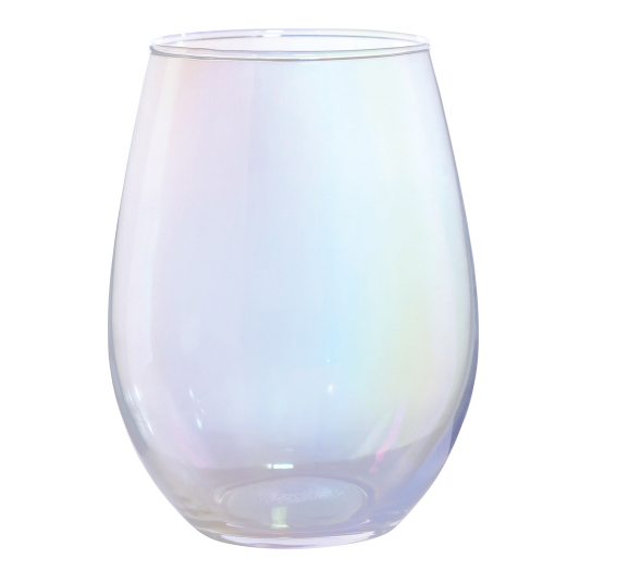Iridescent 20oz Stemless Wineglass