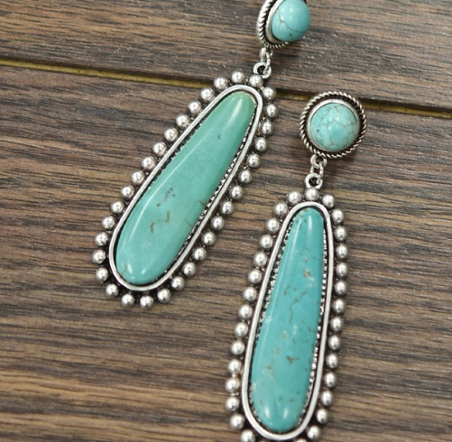 The Tennesee Turquoise Earrings