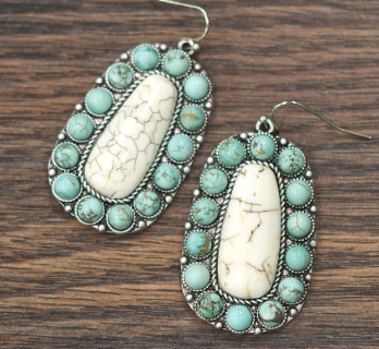 The Cheyenne Turquoise Earrings