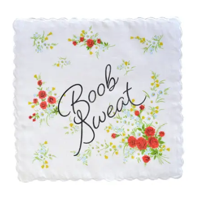 Boob Sweat Handkerchief- 3 Colors