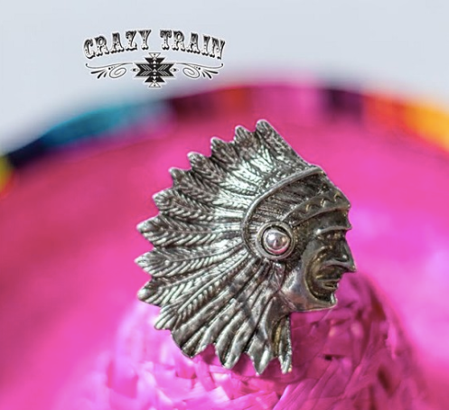 Indian Outlaw Ring- 2 COLORS
