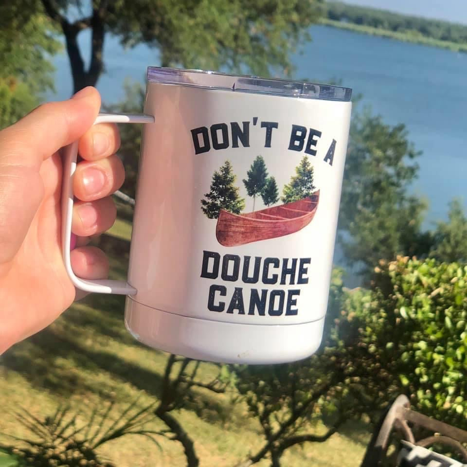 Douche Canoe Travel Cup