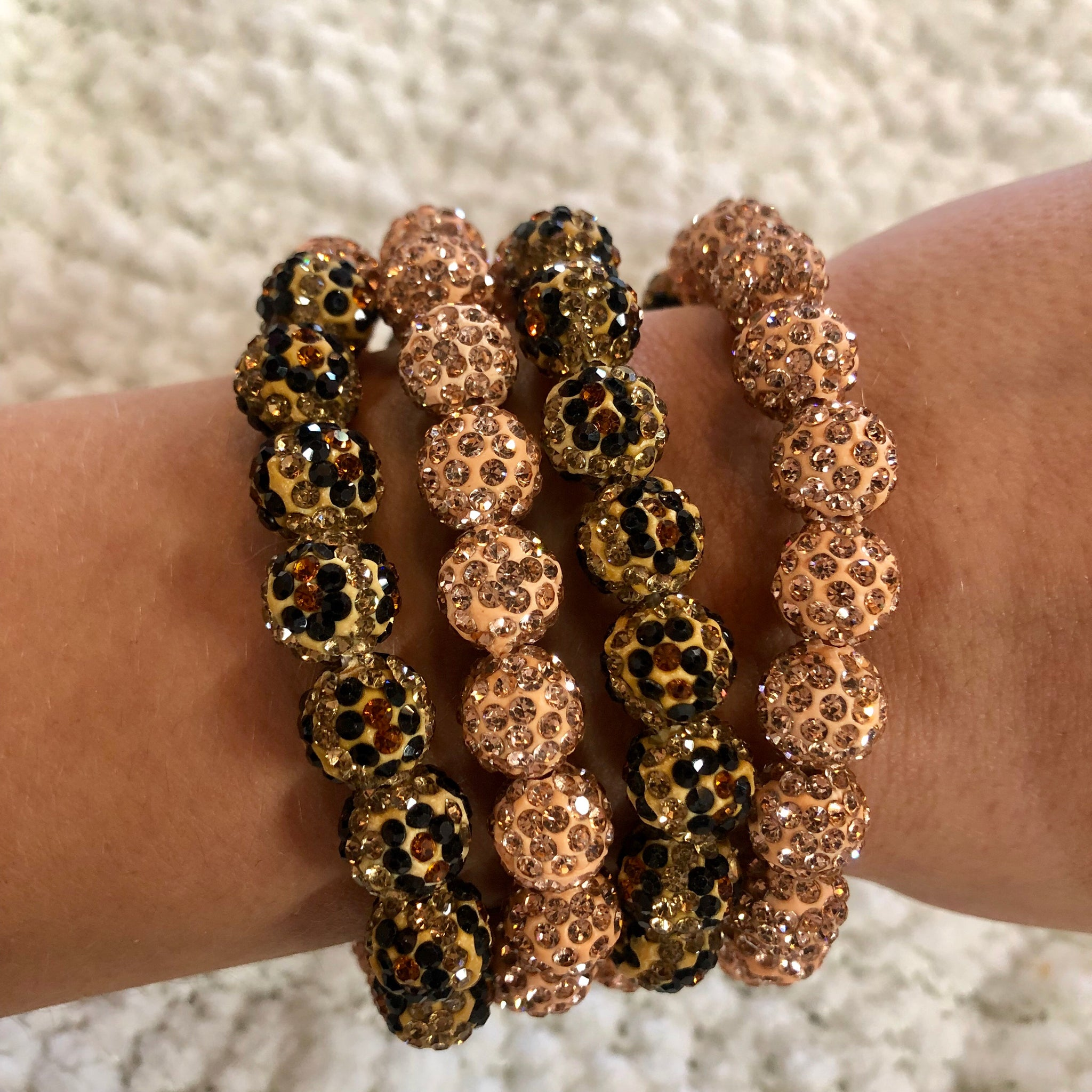 Leopard And Rose Gold Diamond Bracelet
